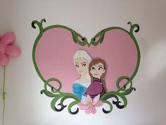Frozen muurschildering by joan of arts