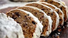 Stollen from New York Times - Recipe Link: http://www.nytimes.com/2009/12/16/dining/161arex.html?ref=dining
