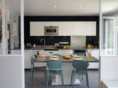 Scenic Ikea Kitchen Ideas Essence Good-looking Kitchen Layout Beautiful Inner Kitchen Island Designs Color : Wood Kitchen Cabinets, Ikea Kitchen, Kitchen Living, Kitchen Ideas, Paris Living Rooms, Cuisines Design, Apartment Kitchen, Home Kitchens, Sweet Home