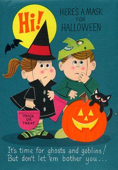 All sizes   Halloween Card w/ mask   Flickr - Photo Sharing!