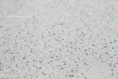 Cambria quartz kitchen countertops - white and silver - all glitter and sparkle!