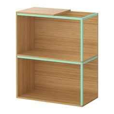 Maybe w/ a lamp coming up through the first shelf? IKEA PS 2014 Storage combination with top, bamboo, light green bamboo/light green 23 5/8x27 1/2