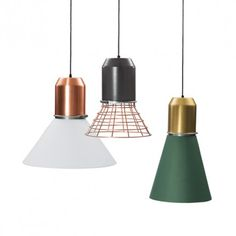 Bell Light by Sebastian Herkner // Classicon