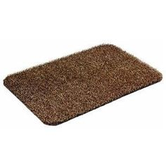 Grassworx 10310874 Taupe Doormat by Grassworx. Save 1 Off!. $9.89. Grabs, traps, and holds dirt. Easy to clean   just hose off. Keeps house clean. Durable, long lasting material. Size: 17.5'' x 23.5''.