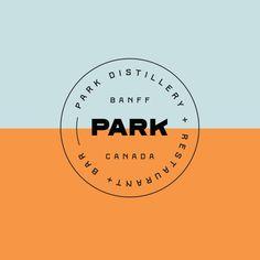 New Logo for Park Restaurant by Glasfurd & Walker — BP&O Minimalist Graphic Design, Graphic Design Branding, Lettering Design, Ad Design, Portfolio Book, Portfolio Design, Portfolio Layout, Logo Restaurant, Branding And Packaging