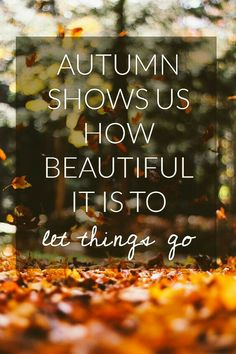 that must be why I love autumn
