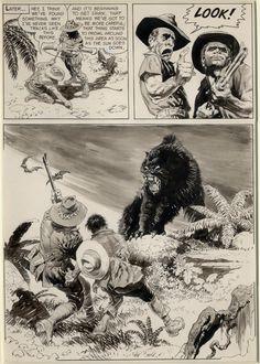 Pellucidar Offerings Werewolf Horror Tale By Frank Frazetta Frank Frazetta, Comic Book Artists, Comic Artist, Comic Books Art, Image Comics, Werewolf Stories, Horror Tale, Comic Kunst, Fantasy Kunst