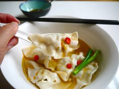 Chinese Dumpling Soup (Sui Gao or Shui Jiao) | The Hungry Australian