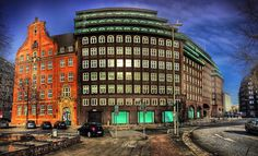 Near Chilehaus Hamburg Germany  Photo by @Octavst  #octavst  #hamburg_octavst  Proud Member of  @HDR_DR @TV_HDR @HDR_PROFESSIONAL @IG_HDR_DREAMS  @HDRZONE @TGIF_HDR  @HDR_EUROPE Thank U for Like & Follow! If you want to watch more about my traveling  check out the link in my Bio.  #building  #architecture #sky #colorful #chilehaus by octavst