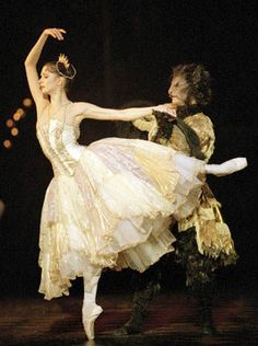 Asta Bazeviciúte. Really beautiful cream and gold romantic tutu