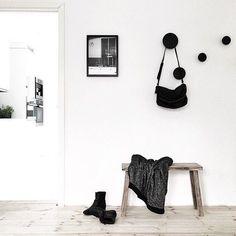 The 'Berlin Swim' print from cocolapine.bigcartel.com in the beautiful home of @funksjonelt