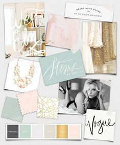 Sophisticated Beauty :: Va Va Voom Boudoir Logo Design :: Saffron Avenue #logodesign #boudoir