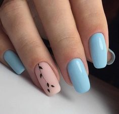 Spring nails are cute yet fashionable. Find easy latest spring nail designs, ideas & trends in spring coffin nails, acrylic nails and gel spring nail colors. Simple Acrylic Nails, Summer Acrylic Nails, Best Acrylic Nails, Spring Nails, Summer Nails, Simple Nails, Nail Ideas For Summer, Fabulous Nails, Perfect Nails