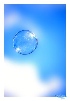 Bubble blue...