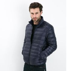 2017 Autumn Winter Duck Down Jacket, Ultra Light Thin plus size winter jacket for men Fashion mens Outerwear coat