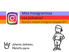 Instagram työpaja Keuruun museo