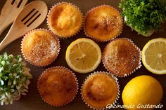 I Muffin ricotta limone sono un delizioso e leggero dessert perfetto per la colazione o la merenda. Gustosi leggeri semplici da preparare.