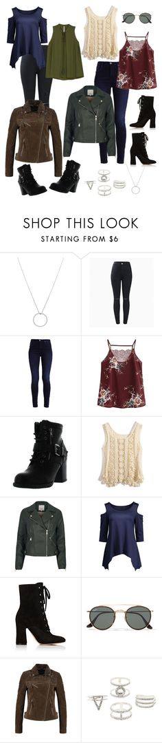 """""""Natalie P"""" by lilynnguyen on Polyvore featuring Roberto Coin, Betani, Chicwish, River Island, Gianvito Rossi, Ray-Ban, Charlotte Russe, Melissa McCarthy Seven7 and plus size clothing"""