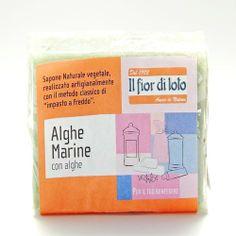 Jabón de Algas Marinas - Il fior di loto - 100gr, 1,90€ en Viva Nutrición - Exfoliante y Hidratante para todo tipo de pieles.