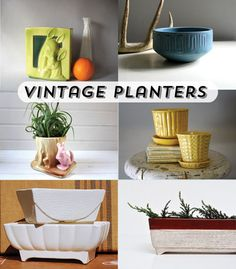 Vintage Planters