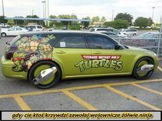 gdy cie ktoś krzywdzi zawołaj wojownicze żółwie ninja
