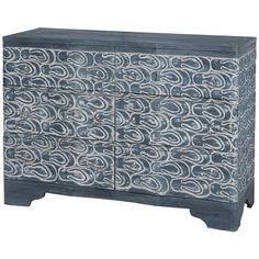 Furniture�::�Chests & Dressers�::�Waterfront Wood Sandal Chest