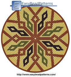 """The location where building and construction meets style, beaded crochet is the act of using beads to decorate crocheted products. """"Crochet"""" is derived fro Mochila Crochet, Crochet Tote, Crochet Purses, Crochet Chart, Bead Crochet, Crochet Snowflake Pattern, Tapestry Crochet Patterns, Crochet Stitches Patterns, Bead Loom Patterns"""