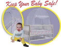 Crib Pop-up Safety Net...