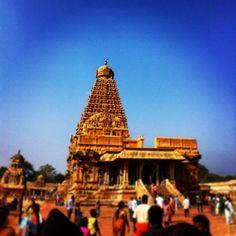 Tanjavur Chola's Big Temple in Tamil Nadu