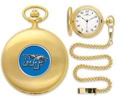 Middle Tennessee State MTSU Pocket Watch