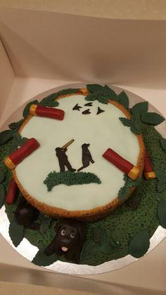 Clayton pigeon shooting cake