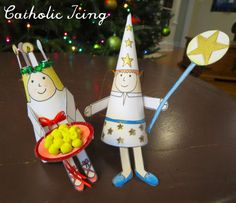 Printable+St.+Lucy+and+Star+Boy+ornaments+for+crafting+for+Santa+Lucia+day.+These+are+so+cute!