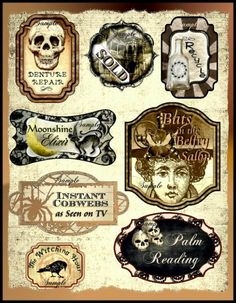 Printable Moonshine Labels - Pics about space