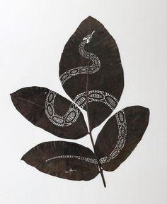 Leaf Art - Lorenzo Duran