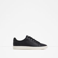 PLIMSOLLS WITH LACES from Zara