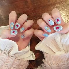 Cute Nails, Pretty Nails, Uñas Diy, Anime Nails, Soft Nails, Broken Nails, Cute Nail Art Designs, Kawaii Nails, Minimalist Nails