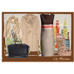 City Afternoon..., created by babyjane-mcconkey on Polyvore