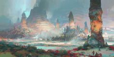 """""""Guild Wars 2 - Southsun Cove"""" by Theo Prins."""