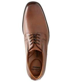 Clarks Men's Tilden Plain-Toe Oxfords - Brown 10.5W