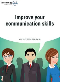 "Improve your communication skills. To know more, read our blog post ""How to Increase Your Employability: Tips for Engineering students"" [Click on the image] ‪#learnengg‬ ‪#engineering‬ ‬#skills"