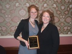 Director of Career Services Jenny Schroth Receives TRiO Achiever Award
