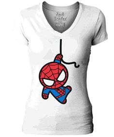 Marvel Kawaii T-Shirt - Spider-Man | Jack of All Trades Clothing $25