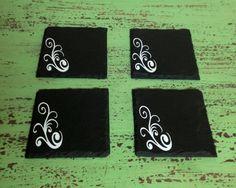 Authentic Slate Coasters