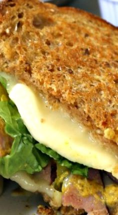 Grown-up Ham and Havarti Grilled Cheese