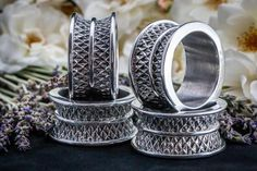 Napkin Ring Crystal (Set of 4) - Crystal d' Afrique Collection - Diana Carmichael Design. Buy online now at www.GoodiesHub.com