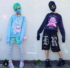 Pastel Goth Outfits, Pastel Goth Fashion, Kawaii Fashion, Cute Fashion, Fashion Outfits, Grunge Goth, Visual Kei, Genderless Kei, Elle Fanning
