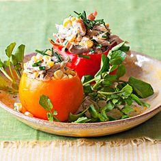 Chicken Salad Tomatoes; minus the chicken