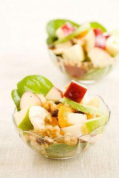 Paula Dean's fruit salad w/ honey dressing