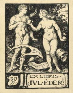 Ex libris - Éder Gyula (ipse)