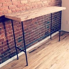 Reclaimed Wood Kitchen Island - Counter Height Multi-use Table